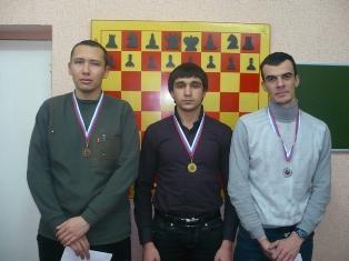 С.Никишин,А.Бегларян,Г.Сахвадзе призеры открытого рейтингового турнира ''Kislovodsk 2012''