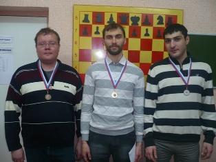 А.Ластин, Б.Савченко,М.Гараков призеры открытого блицтурнира ''Kavkaz-Chess 2012''