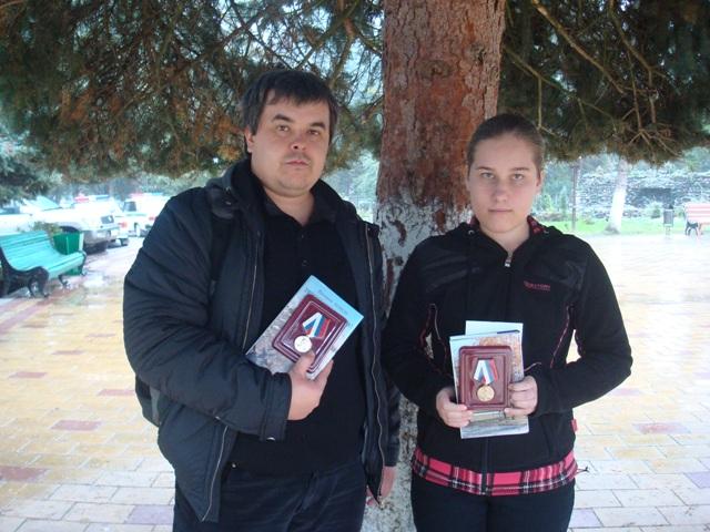 Фазульянов Салим с ученицей Румянцевой Ксенией