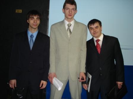 А. Рязанцев Я. Призант С.Фазульянов