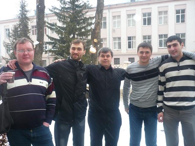 А. Ластин, Б.Савченко,С.Фазульянов,Д.Еращенков,М.Гараков
