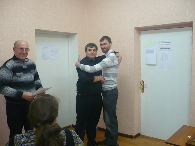 Борис Савченко- победитель первого блицтурнира ''Kavkaz-Chess 2012''