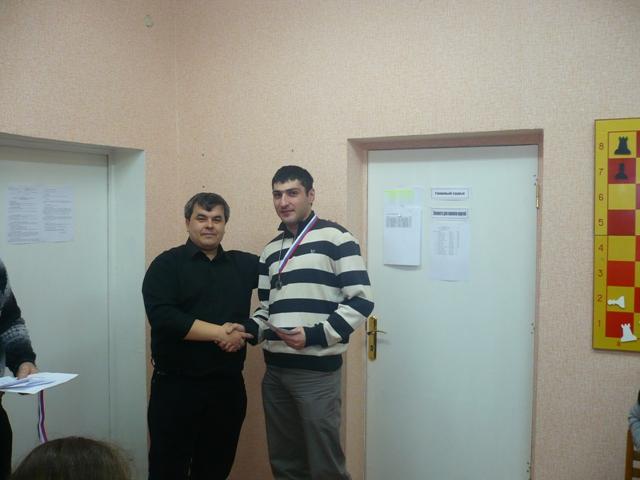 Михаил Гараков из Пятигорска занял 2-ое место