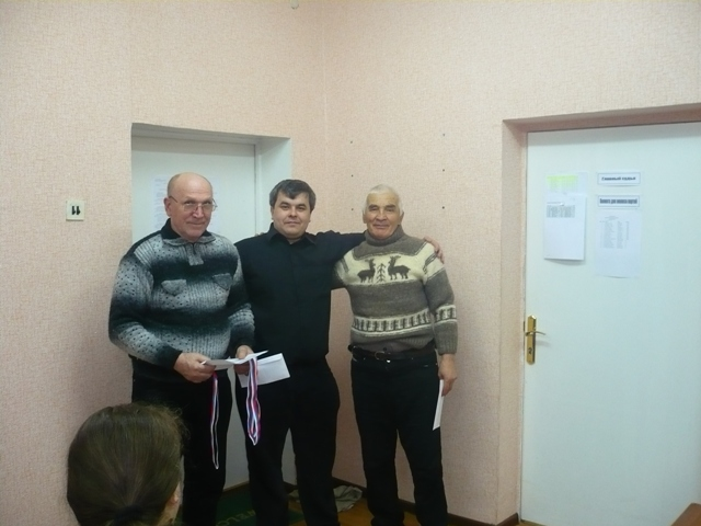 Карабашев Сагид - лучший среди ветеранов