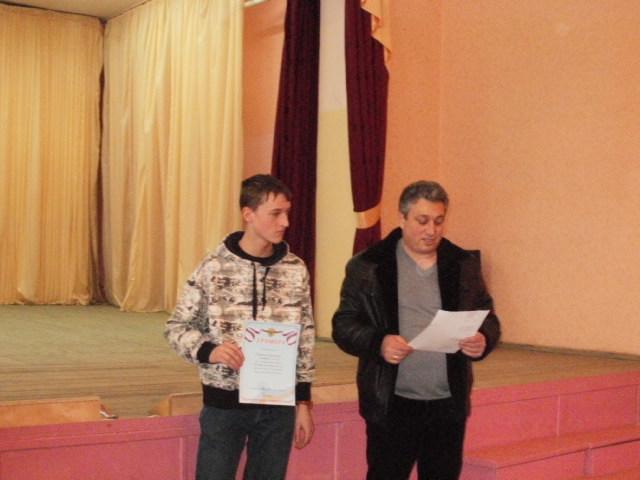 Степанов Арсений (ДЮСШ) 1-ое место на 1-ой доске