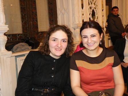 Нана Дзагнидзе и Зейнаб Мамедьярова - две представительницы Кавказа!