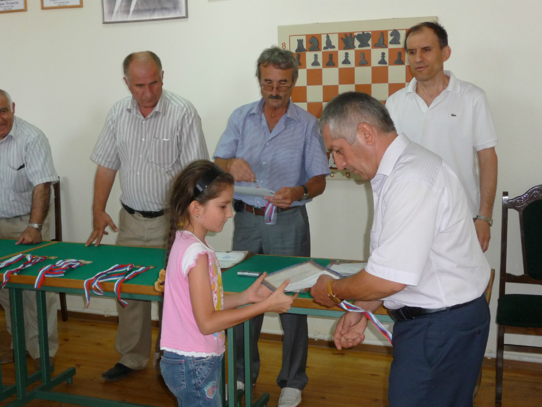 Абдрурагимова А. 3 место до 12 лет