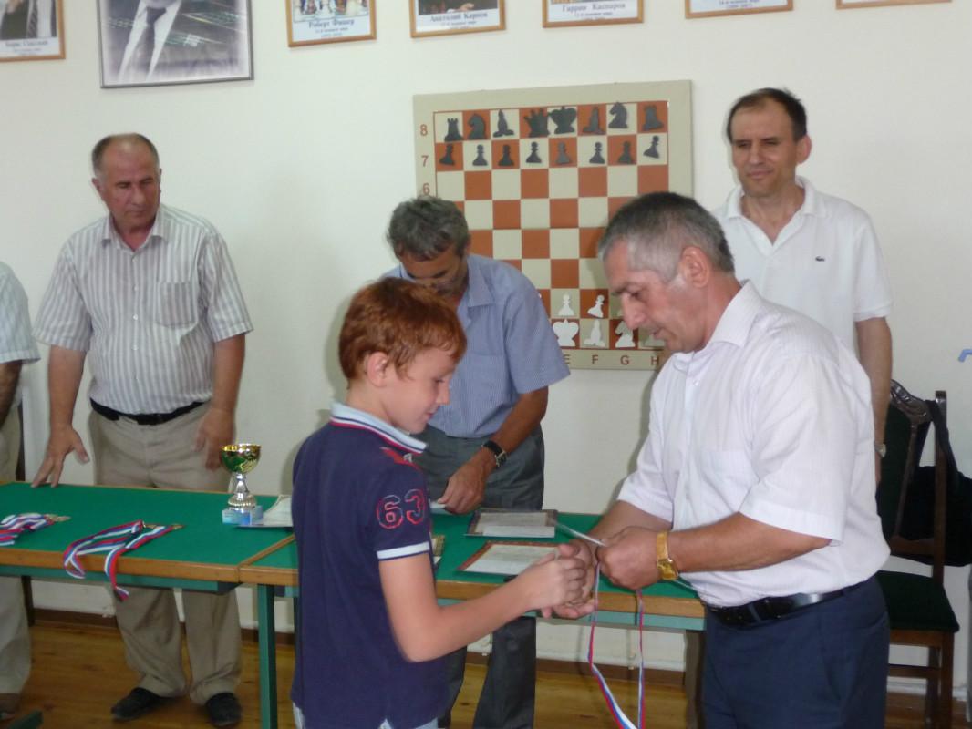 Ахмедов А 3 место до 10 лет