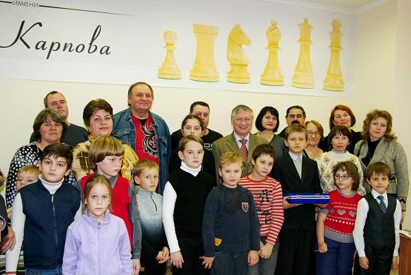 Школа Карпова в Ставрополе
