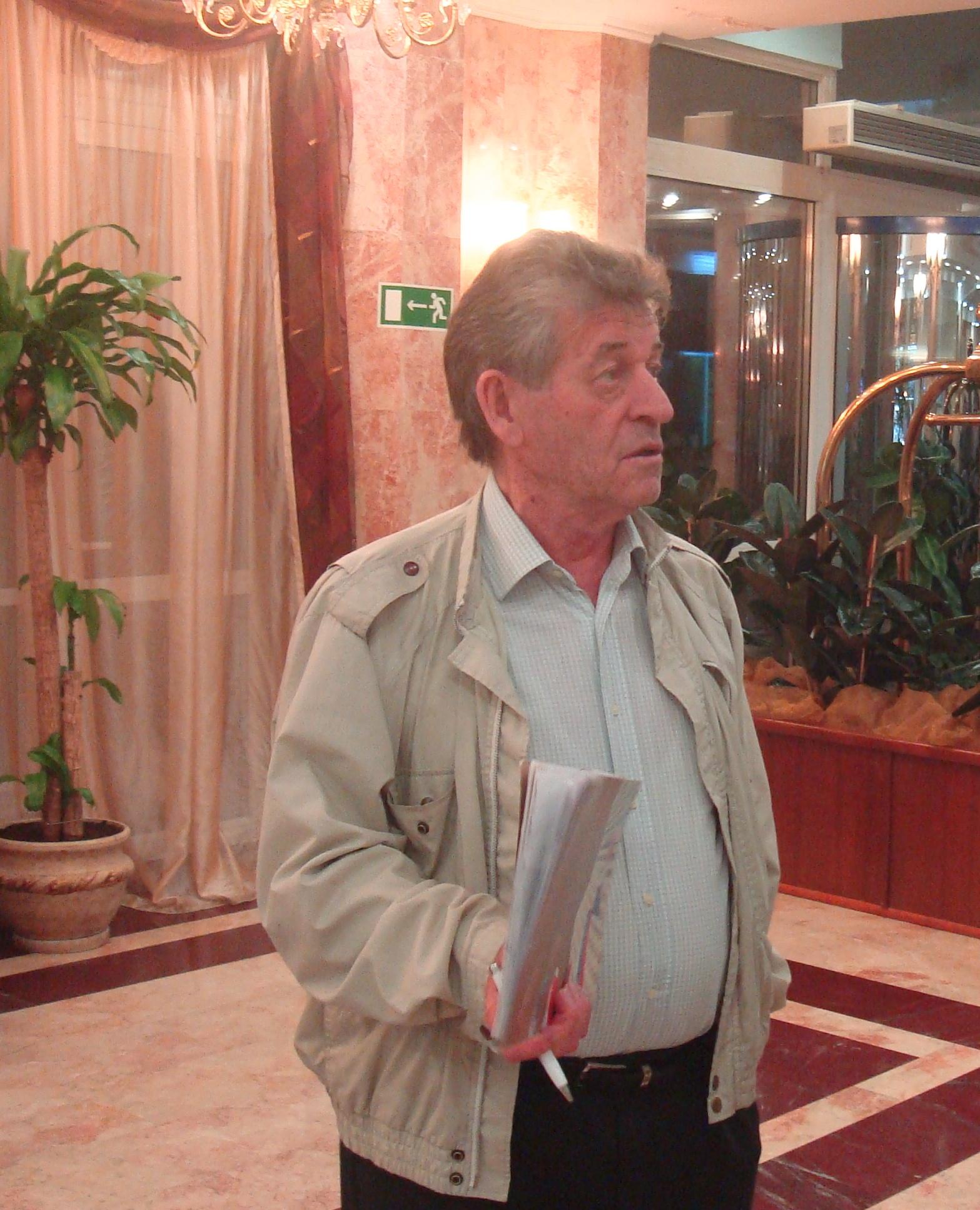 Мастер спорта по шахматам, международный арбитр Лобанов Ю.И.