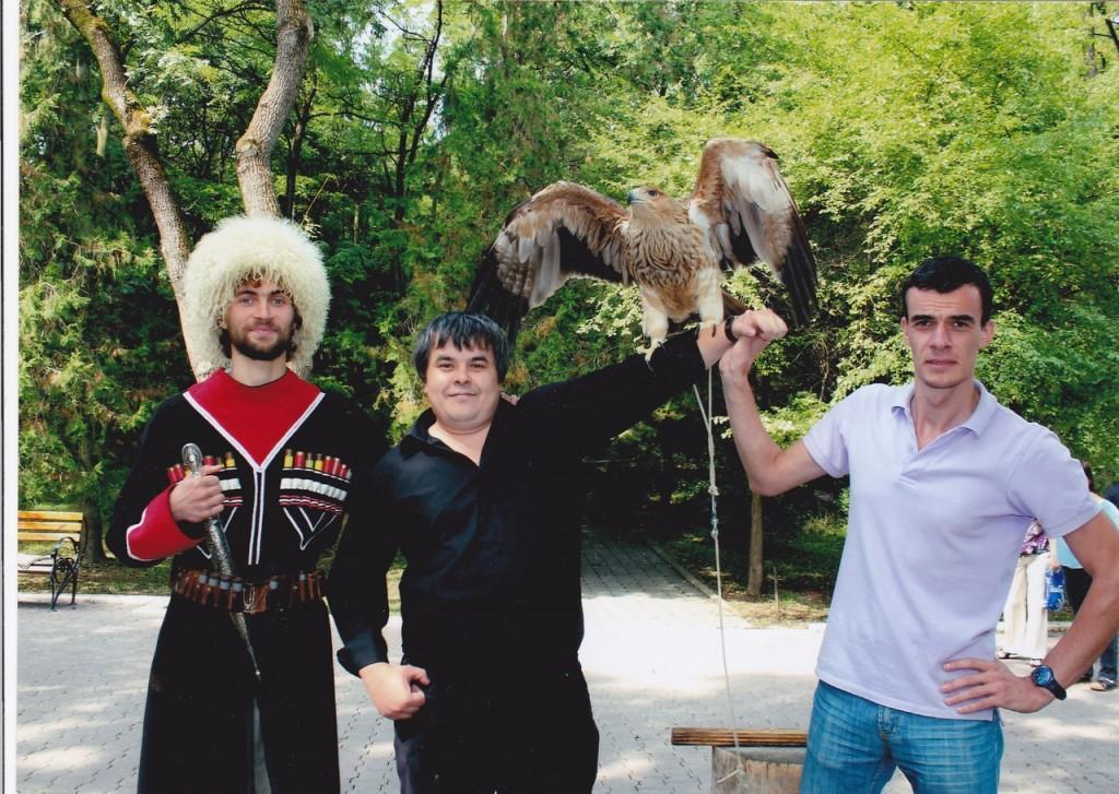 Борис Савченко, Салим Фазульянов, Орел (с логотипа КАВКАЗ-ЧЕСС), Георгий Сахвадзе