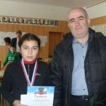 2 место - Темукуева Джамиля