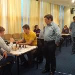 Лидер турнира МГ Павел Трегубов и МГ Олег Корнеев завершили турнир. Ничья. И видимо Павел выиграл турнир!