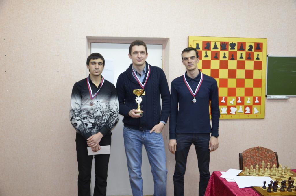 1 место - Ярослав Призант, 2 место - Георгий Сахвадзе, 3 место - Араик Бегларян