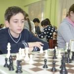 Лобжанидзе Тимур, занимается шахматами 1.5 года и не пропустил за это время ни одного занятия
