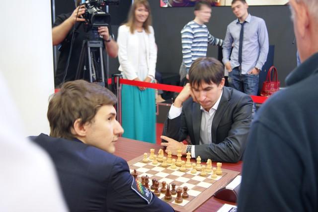 Дмитрий Андрейкин - Сергей Карякин