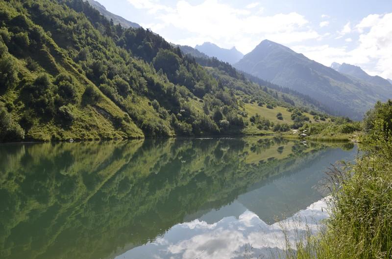 Озеро Тубанлы-Кель (Туманное озеро) или Форельное