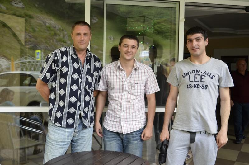 Олег Нечаев, Денис Еращенков, Михаил Гараков