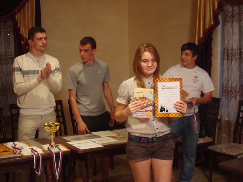 Анастасия Тодуа - 2 место среди девушек