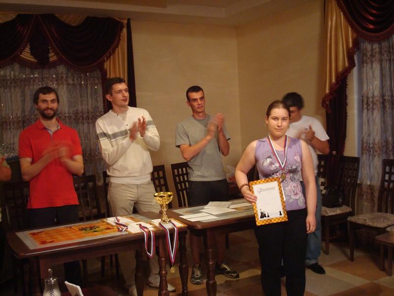 Ксения Румянцева - 1 место среди девушек