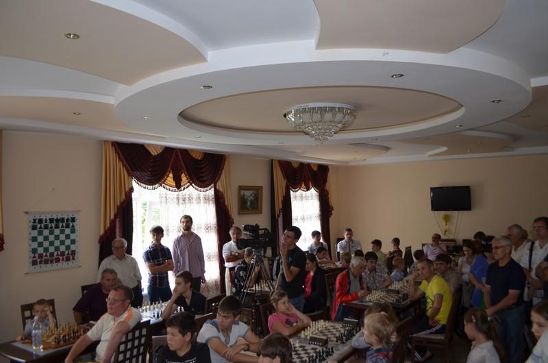 Открытие 4th blitz tournament «Кavkaz-Сhess 2013»