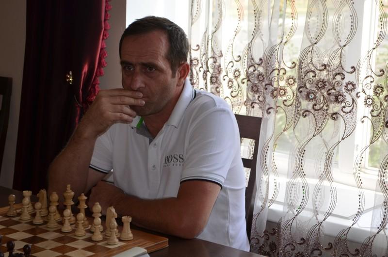 Исполнительный директор Федерации шахмат СКФО Руслан Яндарбиев