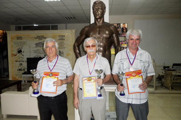 победитель и призеры по рапиду